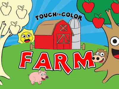 View Touch to Color Farm