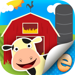 Lily's Farm Animal Stickers - Eggroll Games